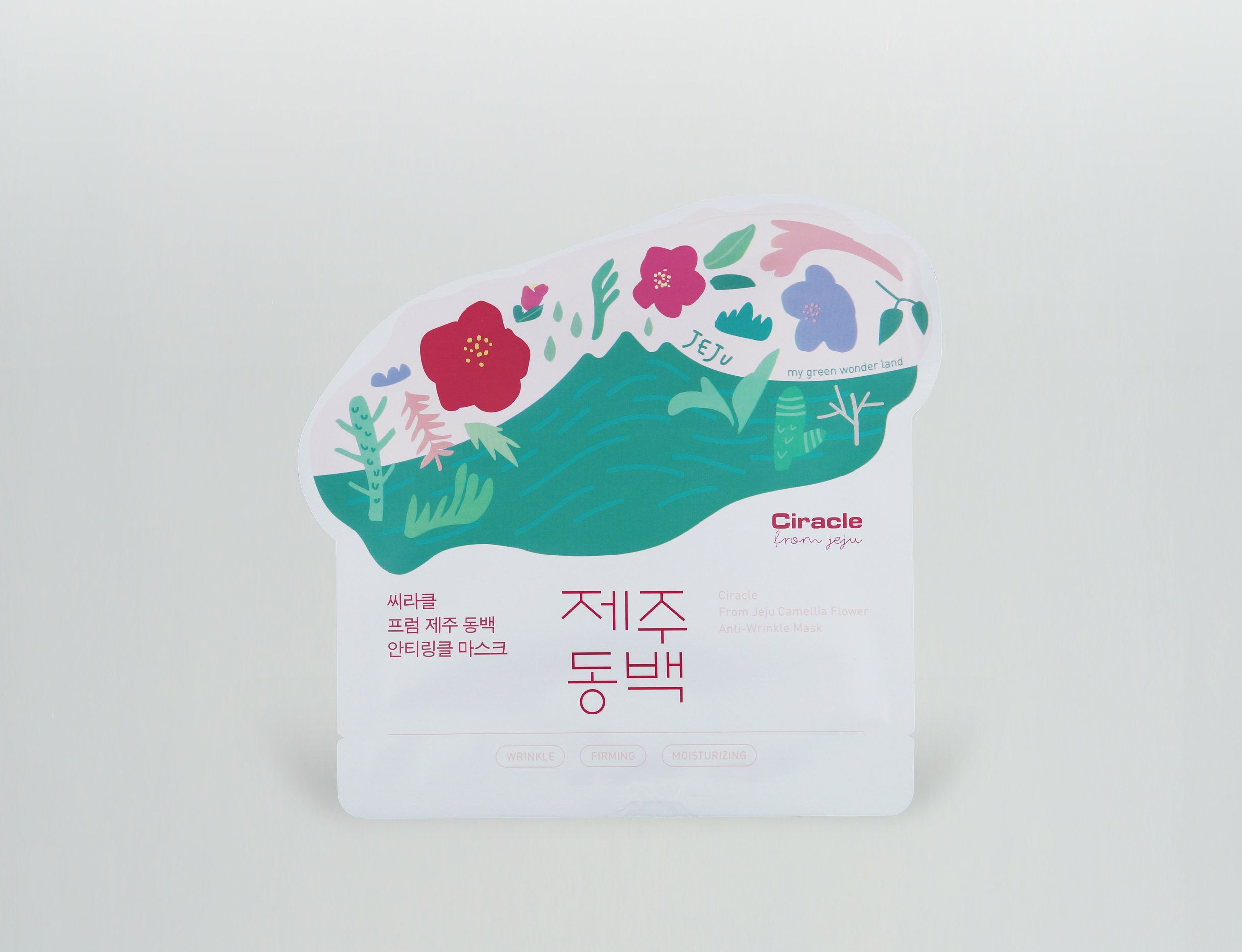 Ciracle Jeju Green Wonderland Ciracle From Jeju From Jeju Camellia Flower Anti Wrinkle Mask Is Created Anti Wrinkle Mask Anti Wrinkle Pure Products