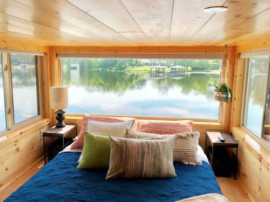 The View Waterfront Tiny House In Orlando Airbnb Tiny