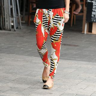 Print Harem Pants from #YesStyle <3 SO Central YesStyle.co.uk