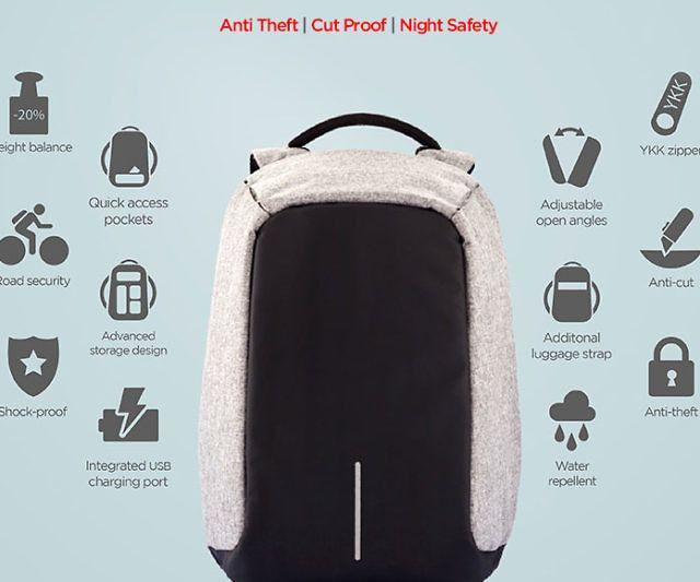 The Anti Theft Backpack Anti Theft Backpack Anti Theft Bag Anti Theft
