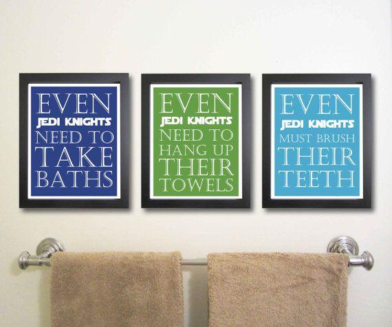 Nursery art print, Star Wars 11 x 14, Children Decor ...