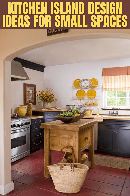 Kitchen Island Design Ideas For Small Spaces Small Kitchen Furniture Small Kitchen Kitchen Inspirations