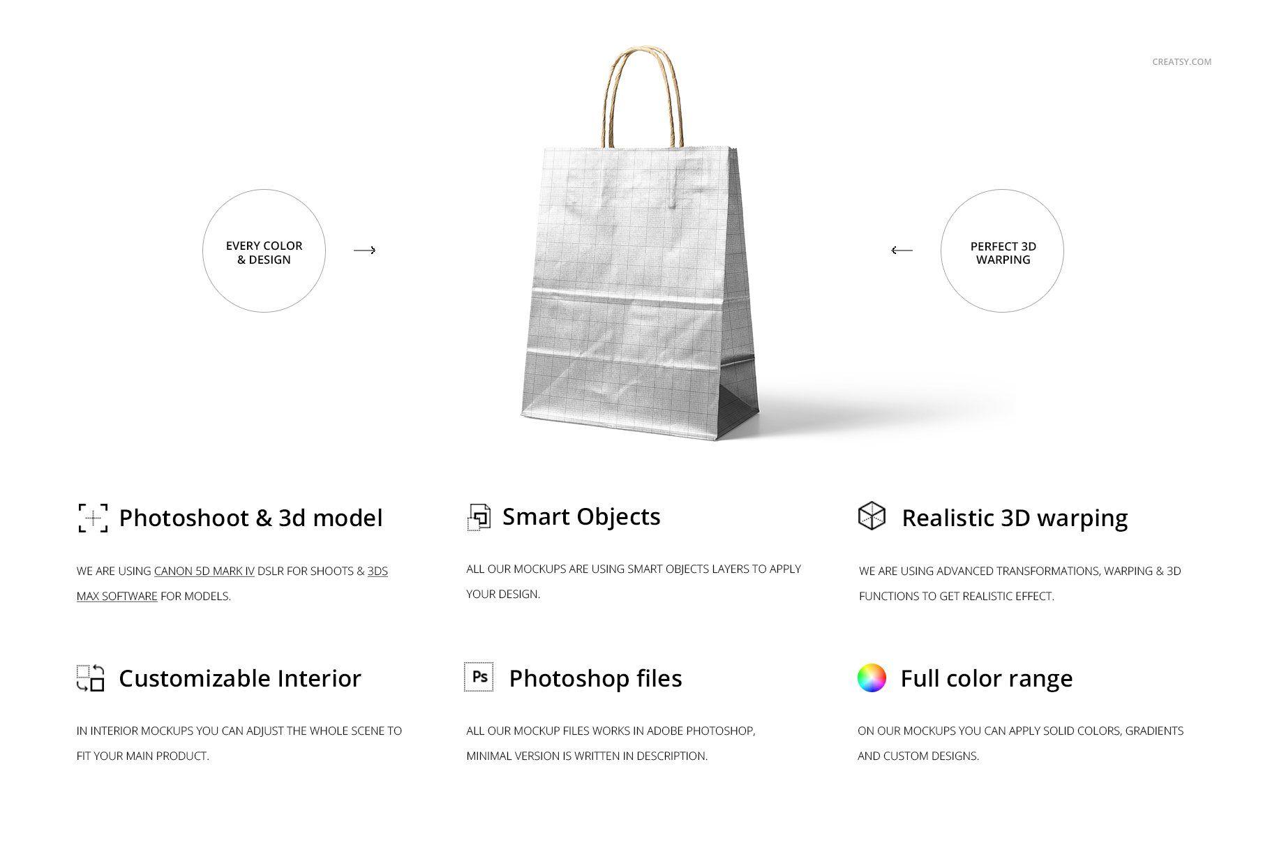 Download Metallic Kraft Paper Bag Mockup Set Bag Mockup Kraft Paper Paper Bag