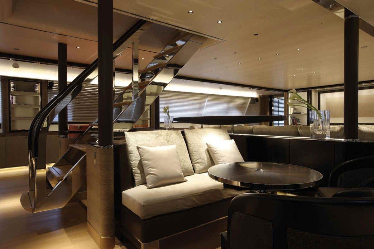 modern yacht interiors   Ultra modern – Riela Expensive Yacht s ...