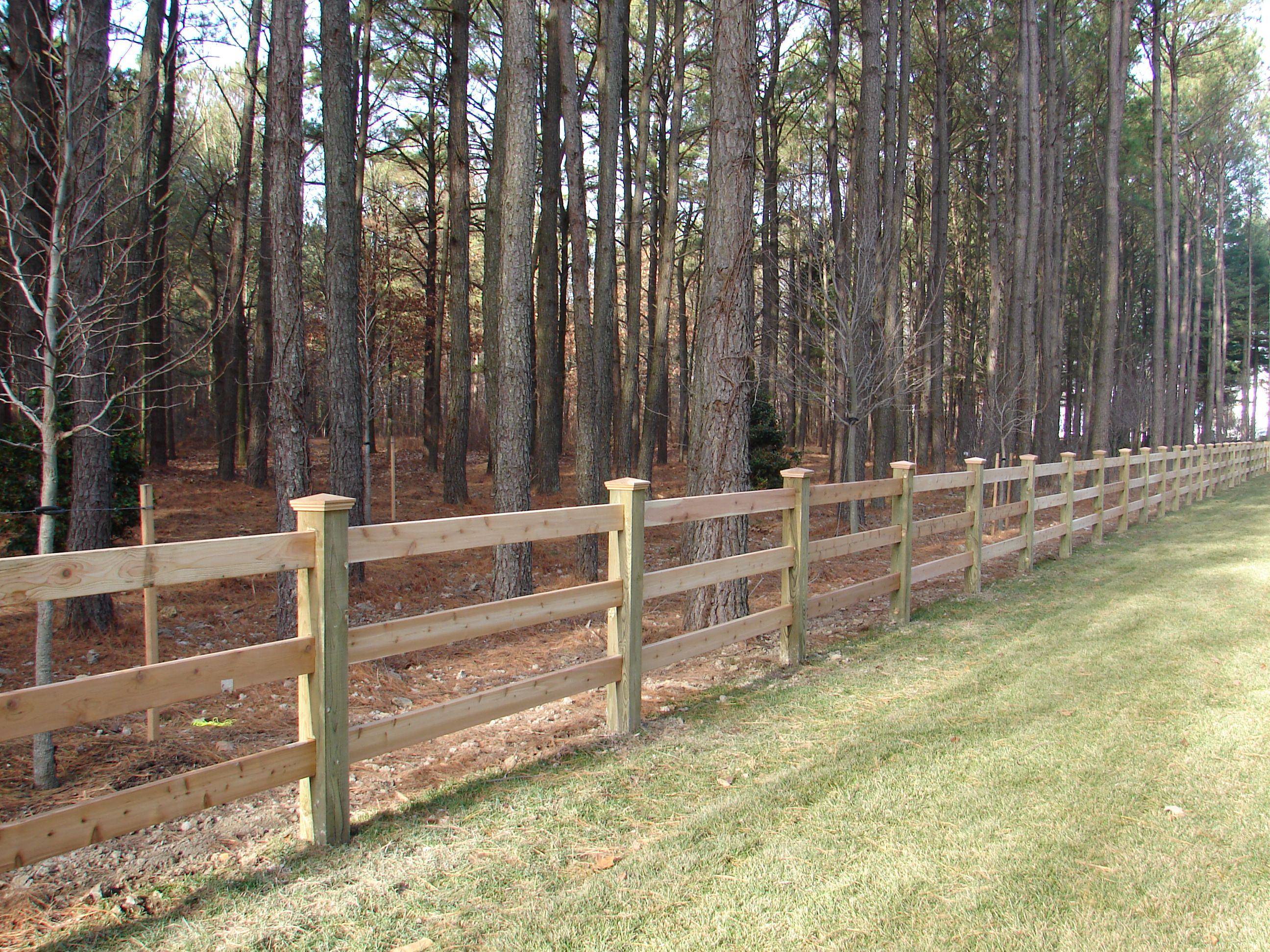 Wood 3 Board Paddock Fence Wood Fence Wire And Wood Fence Different Types Of Fences
