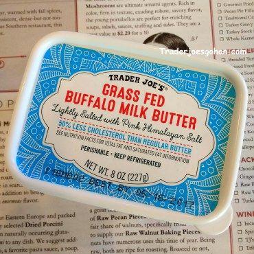 Trader Joe's Grass Fed Buffalo Milk Butter $2.99 #TraderJoes #Buffalo #Milk #Butter