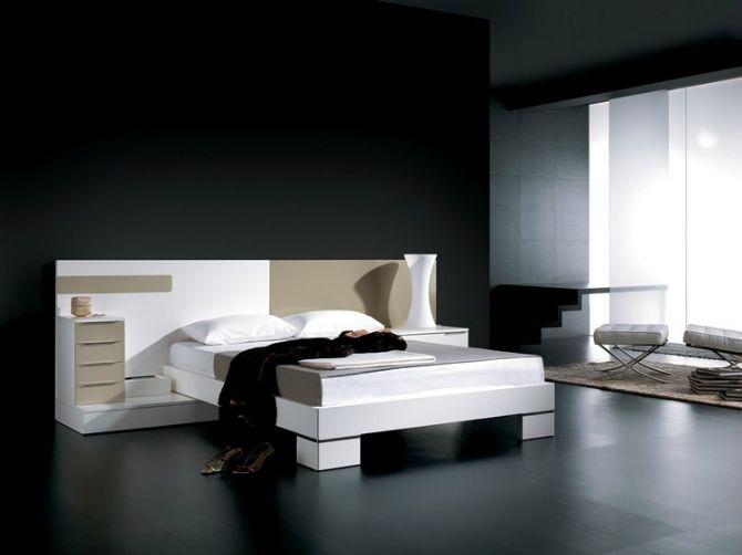 Interior Design Ideen Für Ein Minimalistisches Schlafzimmer #grau #bedroom  #modern #room #bed #minimalistischeinrichten #wand #wohnideen ...