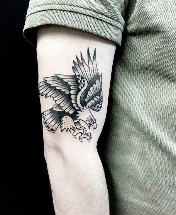 37 Small Eagle Tattoo Designs For Men Small Eagle Tattoo Tattoo Designs Tattoo Designs Men