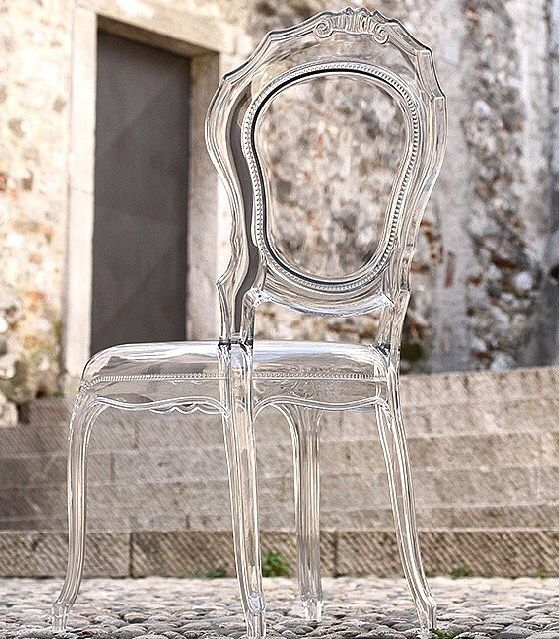 Clear Vogue Chair, Detailz Chair Couture, Toronto | WedLuxe ...