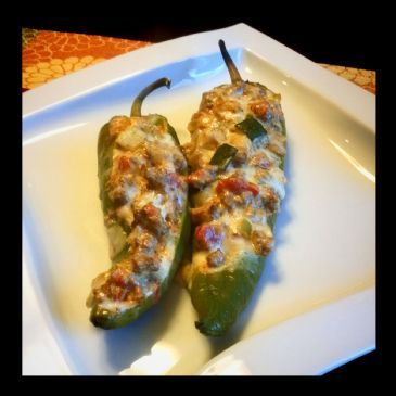 Low Carb Cheesy Stuffed Poblano Peppers Recipe Recipe Stuffed Peppers Peppers Recipes Poblano Peppers Recipes