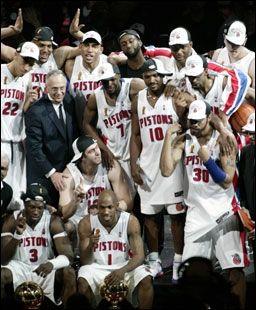 Detroit Pistons Nba Champions 2004 Detroit Basketball Detroit Sports Detroit Pistons
