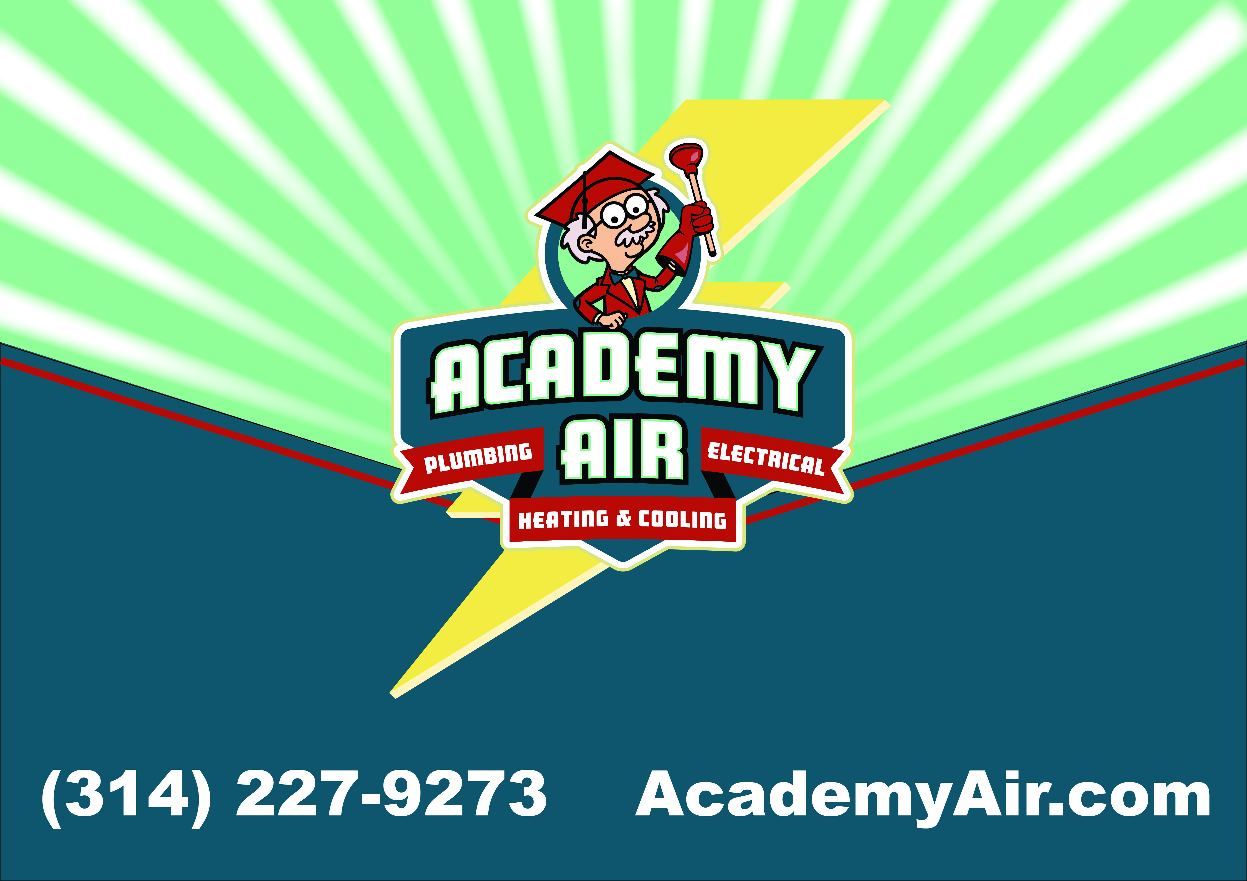 Call Academy Air For All Of Your Heating Cooling Plumbing And