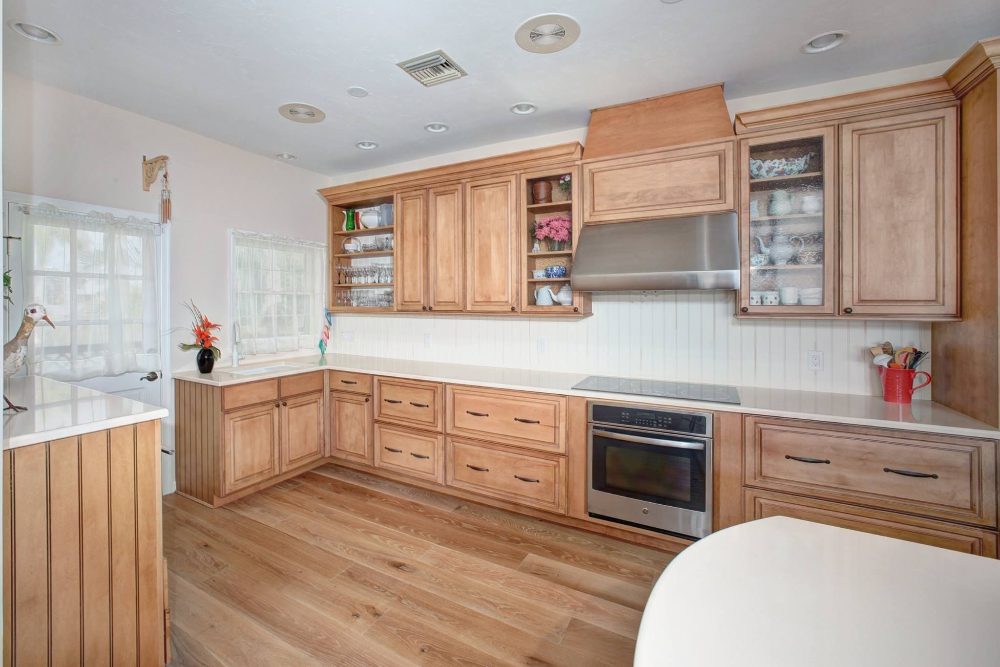 Kitchen Remodel Rustic Suede Cabinets Woodharbor Custom Cabinetry Naples, FL