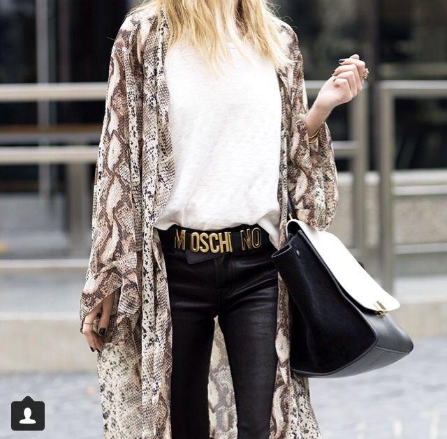 #kimono #celine #trapeze #leather #legs #streetstyle