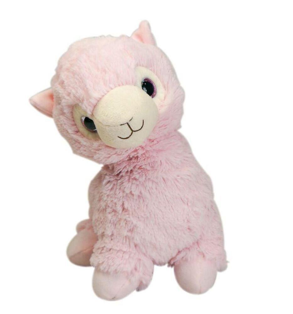 Warmies® Cozy Plush Pink Llama Llama stuffed animal