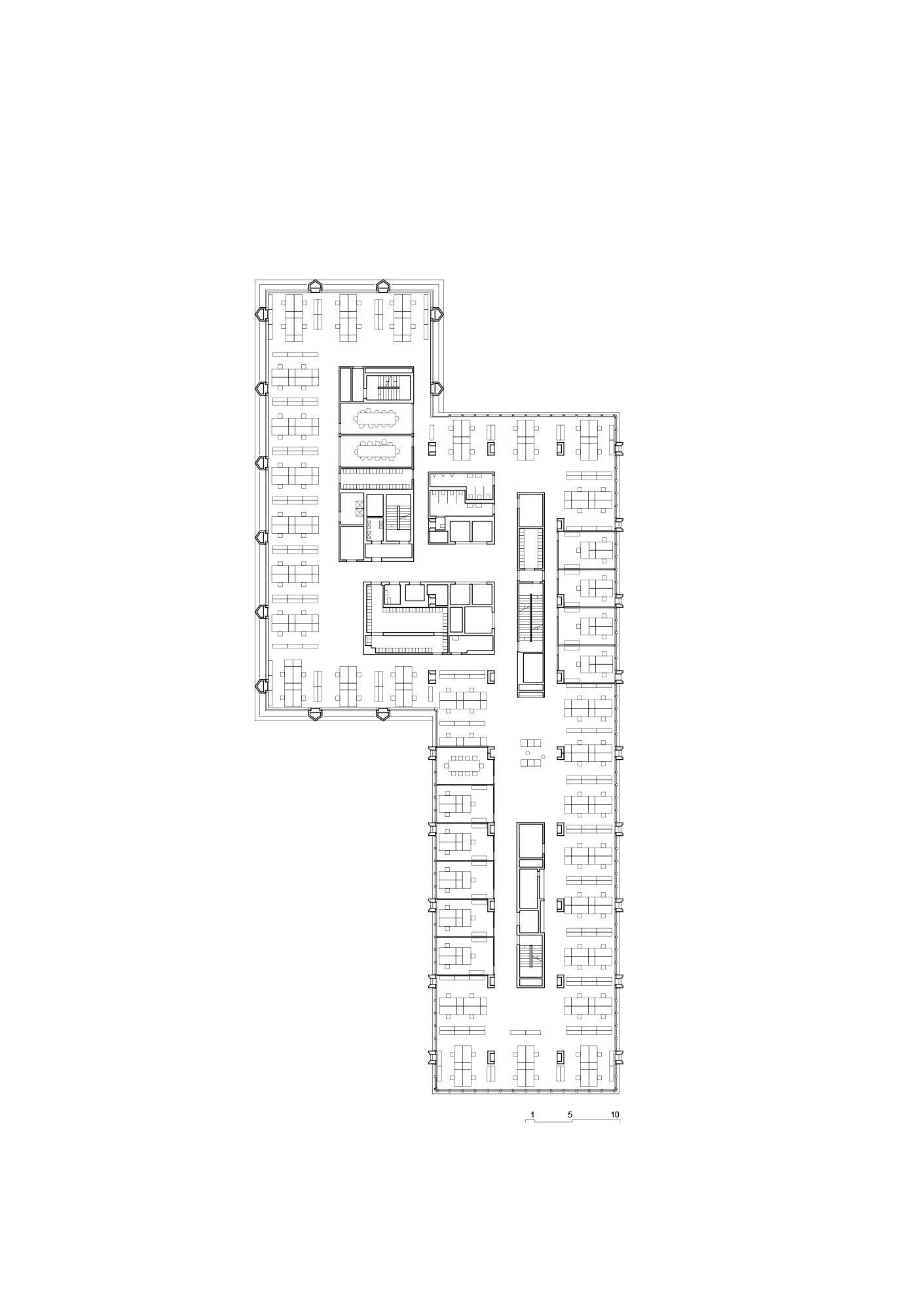 Bruther   50 Apartamentos   Limeil  Brévannes, Francia   2009   Correcta  Distribución De Apartamentos En Varios Tamaños. Acceso Tradicional Por Galu2026