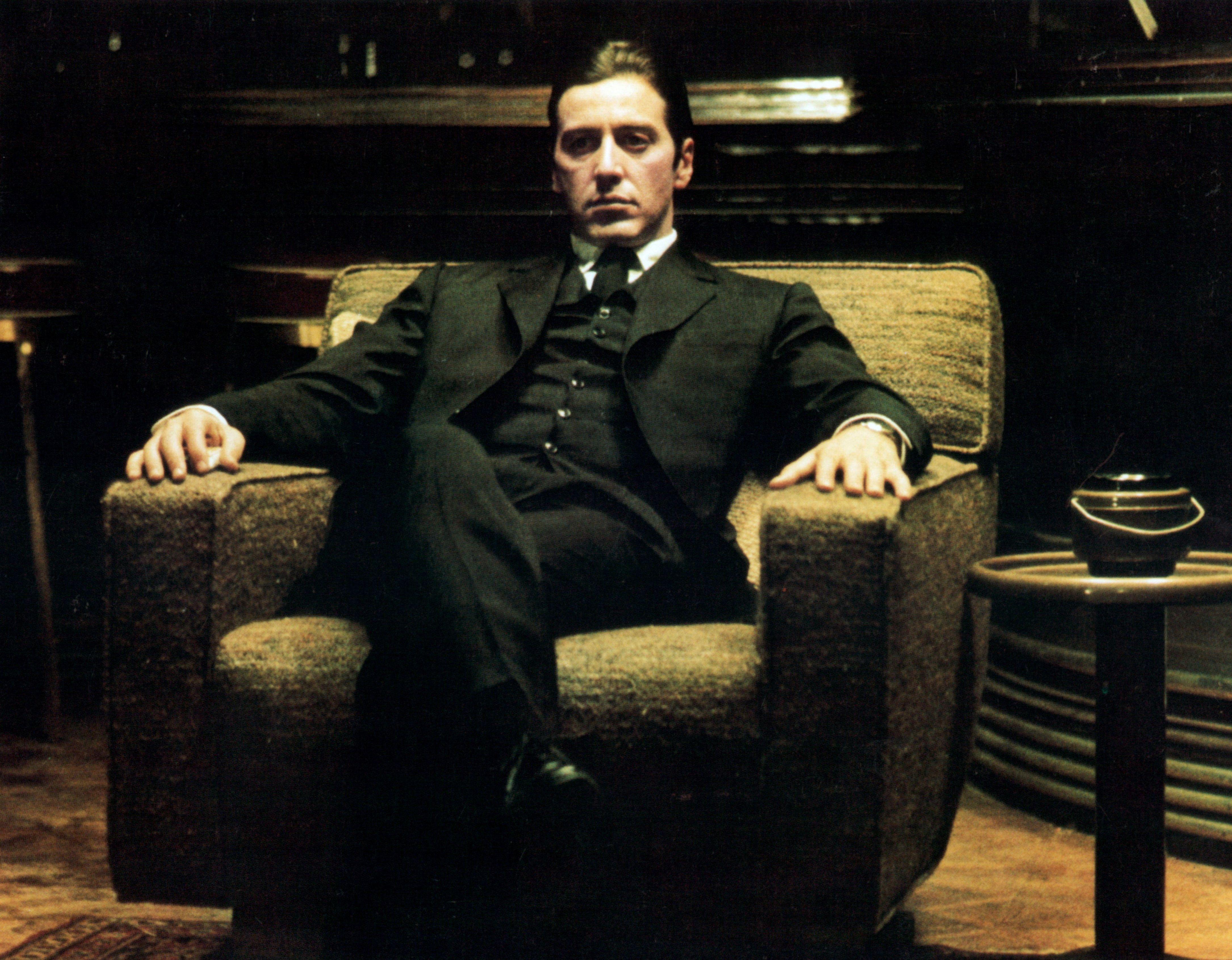 Still Of Al Pacino In Krikstatevis Ii 1974 The Godfather