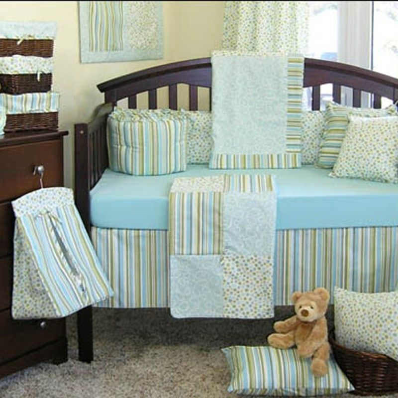 Cabana Crib Bedding Set | Theo and Jordy\'s Room | Pinterest