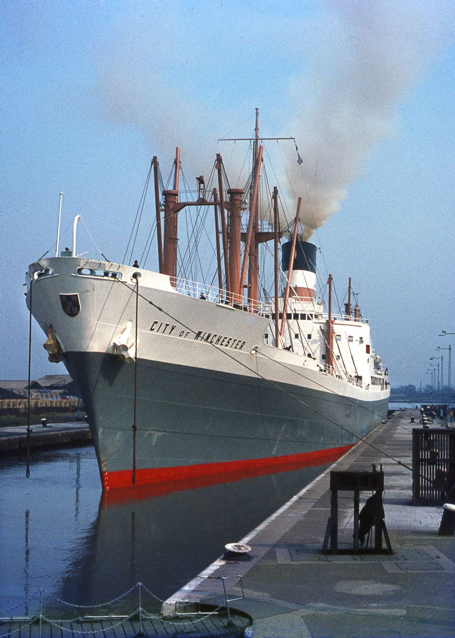 City of Winchester - Ellerman Line Liverpool | barcos ...