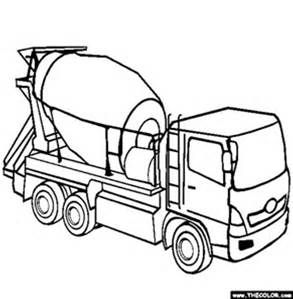 Coloring Pages Of Cars And Trucks Elegant Cement Truck Coloring