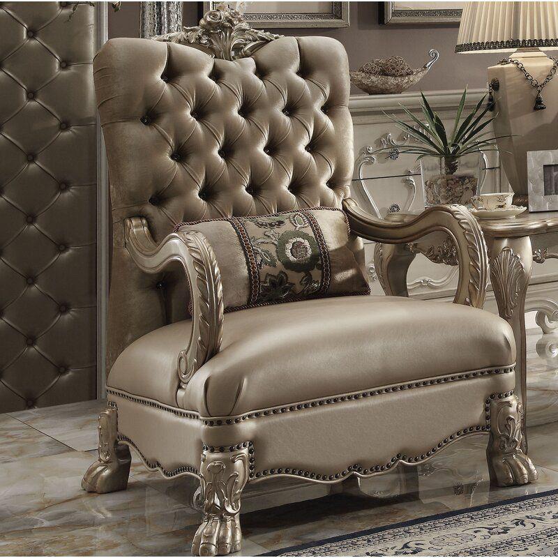 Spurlin 33 Wide Cotton Armchair Elegant Home Decor Furniture Luxury Furniture