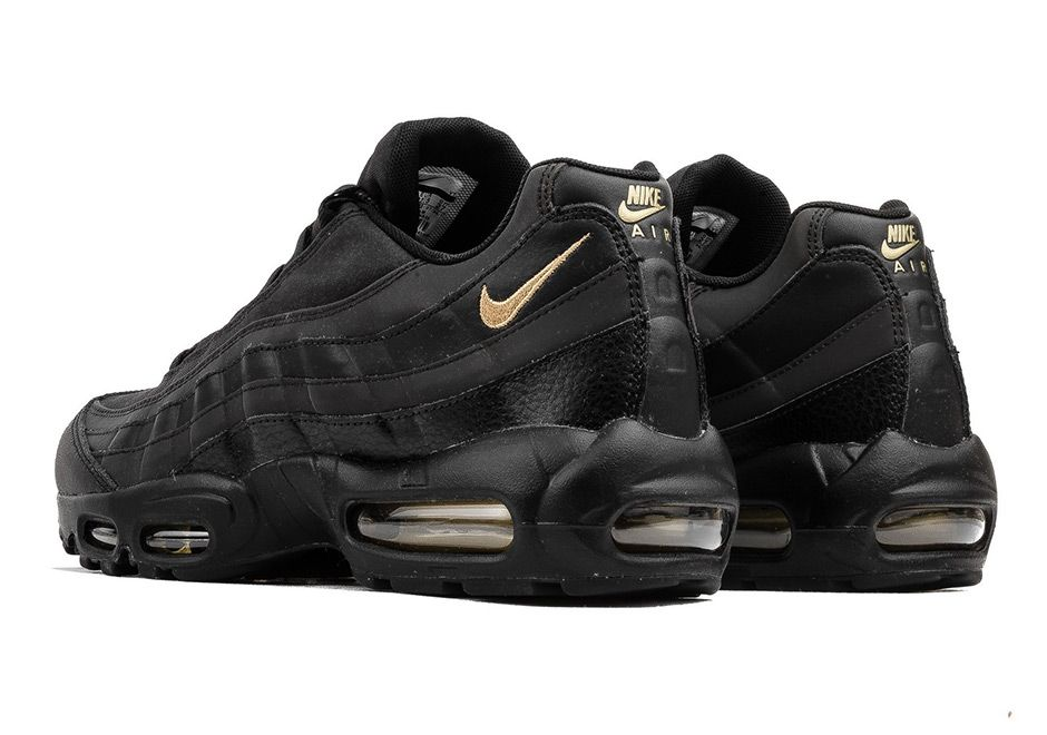 Nike Air Max 95 Black and Gold 924478 003 First Look | Nike