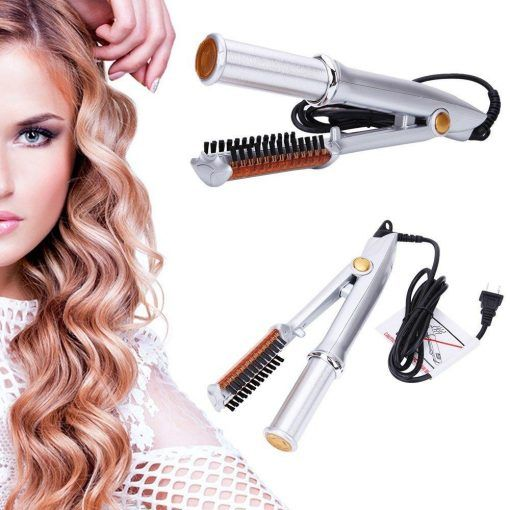 2 Way Rotating Curling Iron Mexten Product Is Very High Quality Hair Straightening Iron Rotating Curling Iron Best Hair Straightener