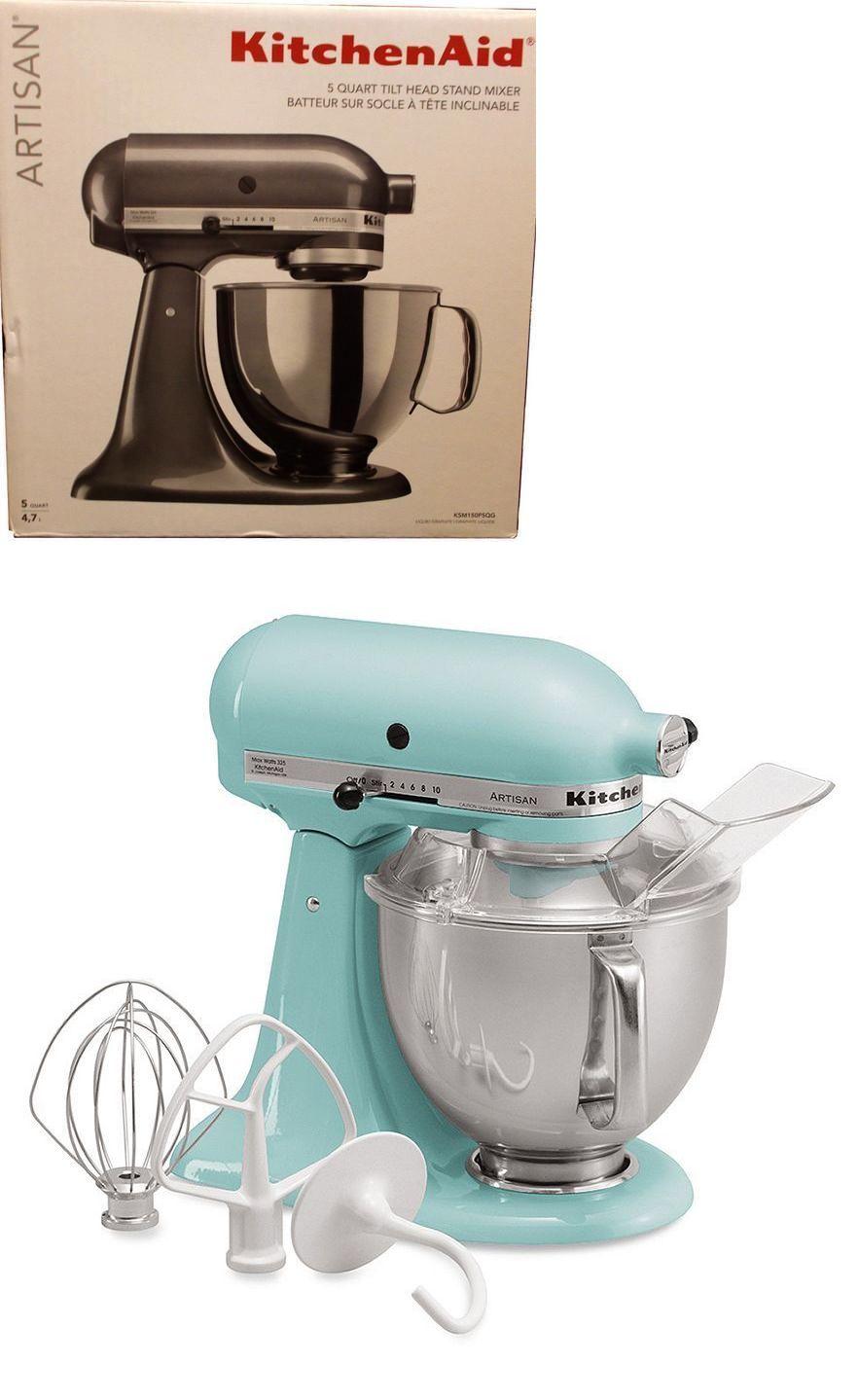 Uncategorized Where To Buy Small Kitchen Appliances small kitchen appliances kitchenaid ksm150ps artisan 5qt stand mixer aqua sky brand new