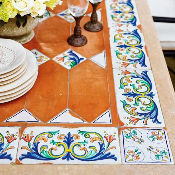 How To Make Your Own Tile Table Kitchen Table Makeover Diy