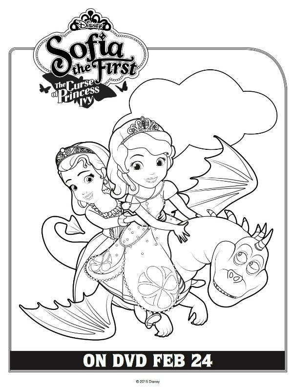 Free Printable Disney Sofia The First Coloring Page Disney