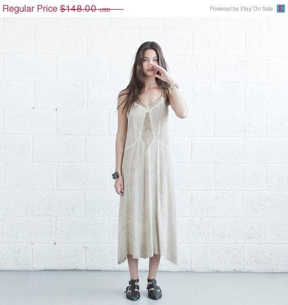 Summer Sale Diamond Dress  Sand. by naftul on Etsy, $125.80