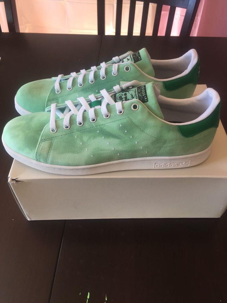 53ae57904 MENS ADIDAS PW HU HOLI PHARRELL WILLIAMS STAN SMITH GREEN CLOUD ATHLETIC  SHOES  fashion  clothing  shoes  accessories  mensshoes  athleticshoes  (ebay link)