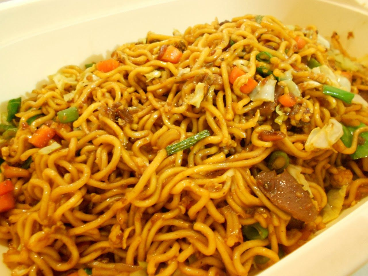 Fried Noodles Mie Goreng Indonesian Recipes Indonesian Food