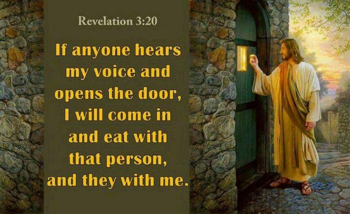 Revelation 3:20 | Revelation, Revelation 3, Blessed is she