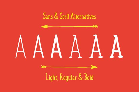 Jovial Font Family + Bonus Elements! by Tom Chalky on @creativemarket