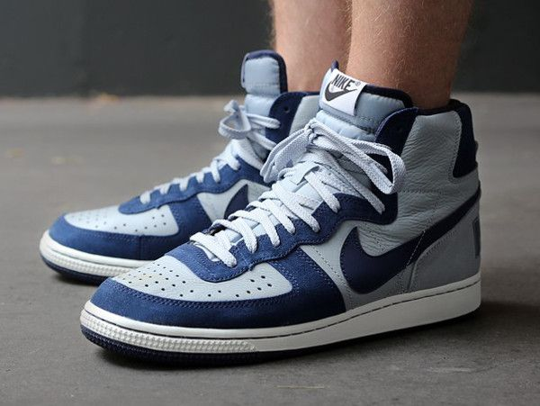 taille 40 1b2f6 271ab Nike Terminator High Vintage Georgetown | CLOTHES in 2019 ...
