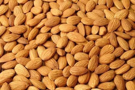 Almonds - 7 Protein Rich Snacks for Vegetarians  http://www.buildhealthybody.com/7-protein-rich-snacks-vegetarians/
