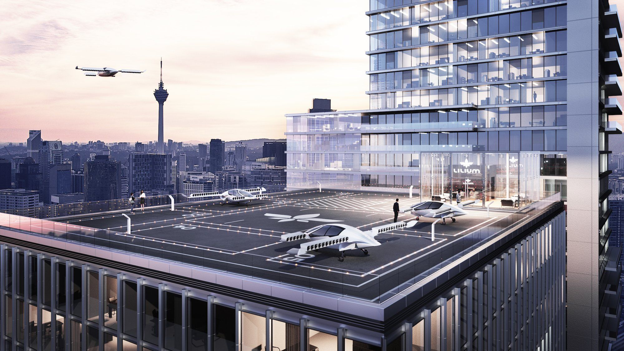 A German startup building an electric jet taxi just raised