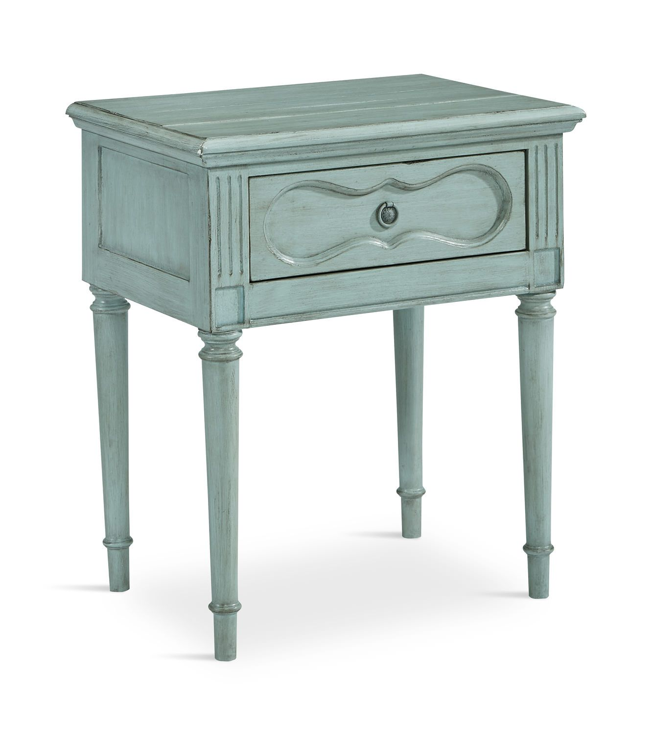 Cameo Night Table French Blue HOM Furniture