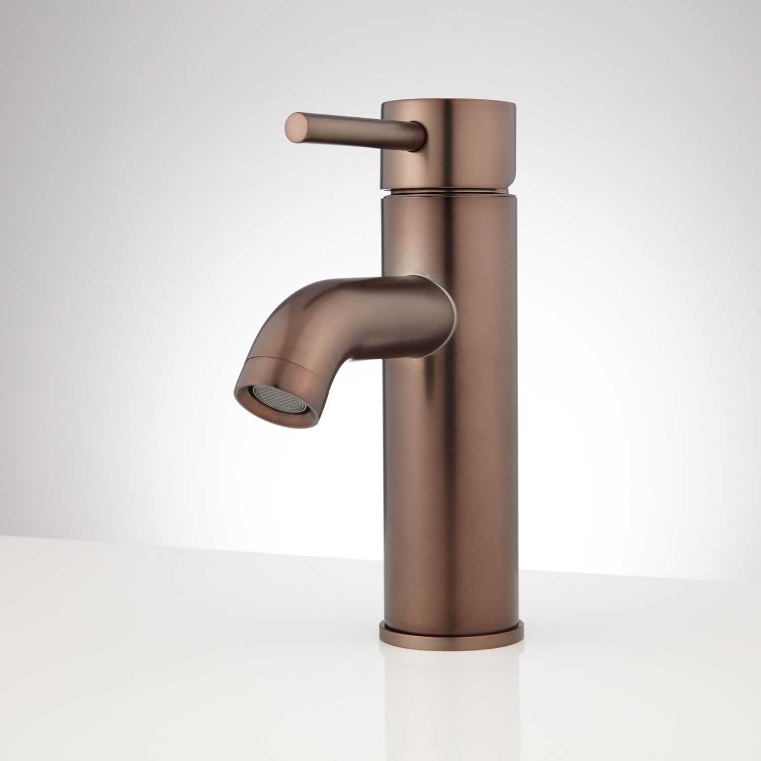 Oxley Single-Hole Bathroom Faucet - No Overflow - Oil Rubbed Bronze