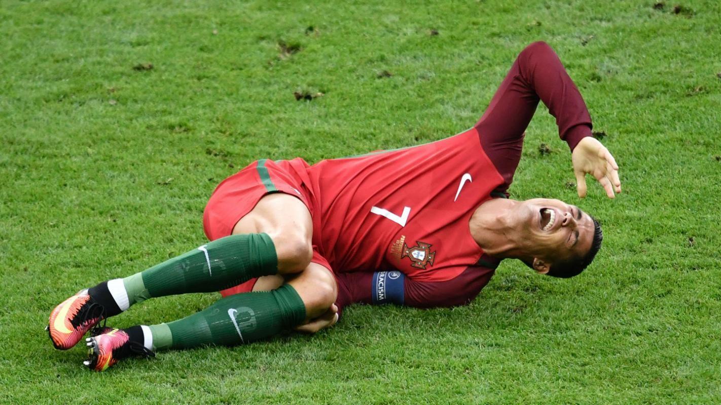 Cristiano Ronaldo suffers heartbreaking injury in Euro
