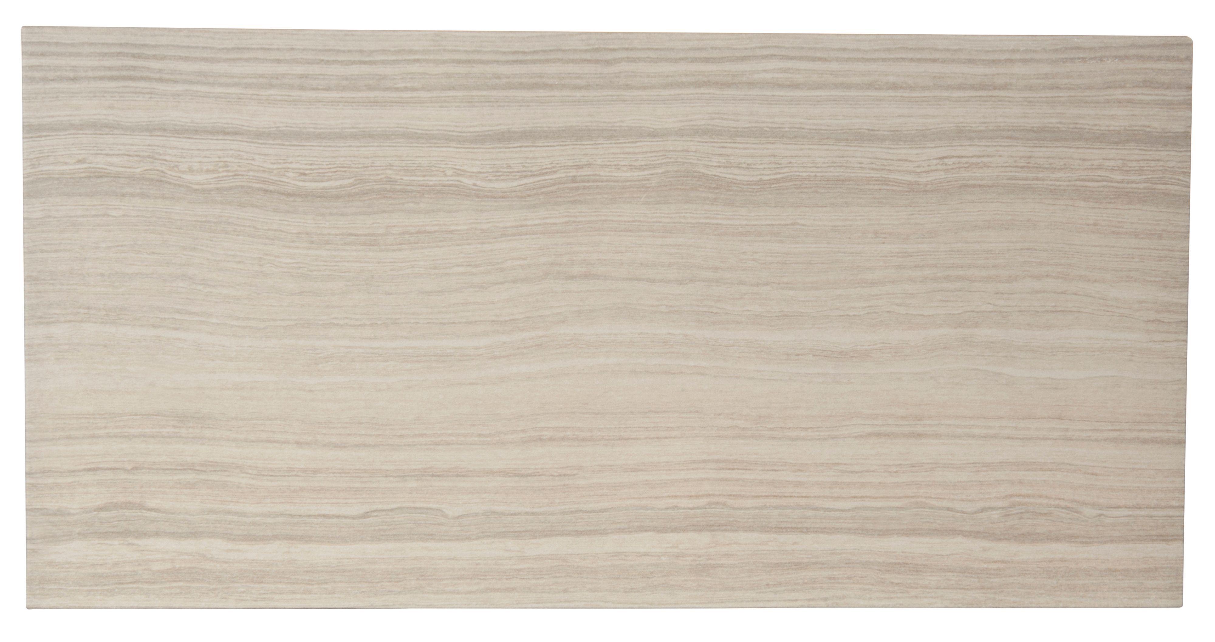 bolina bone ceramic wall & floor tile, pack of 6, (l)600mm (w
