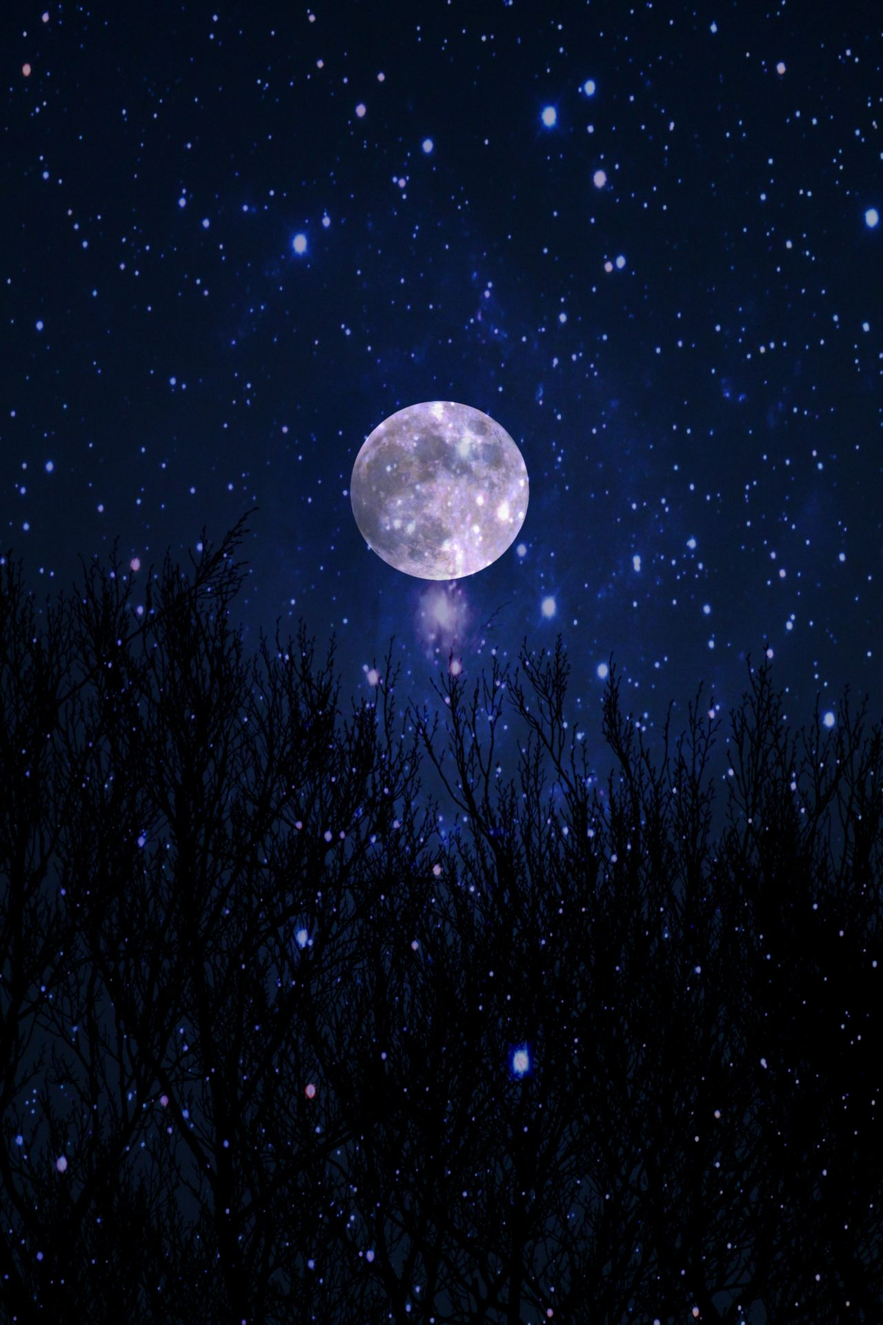 Moon And Stars Background Picture 4055 High Definition ...