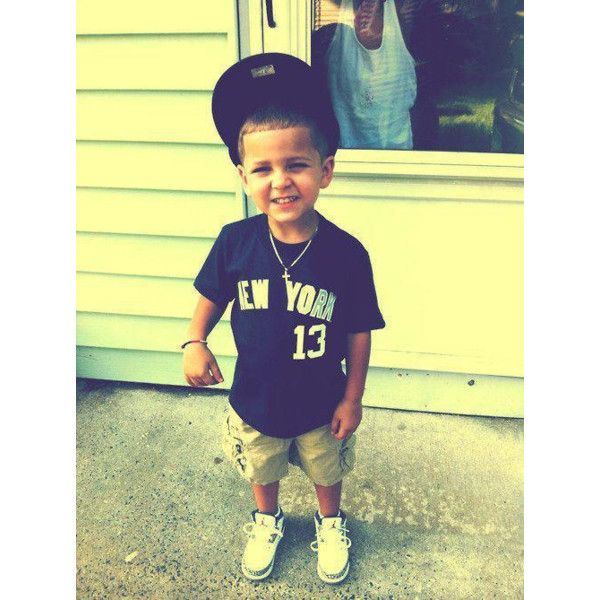 kids with swag | Tumblr found on Polyvore | TOO CUTE AKA ...