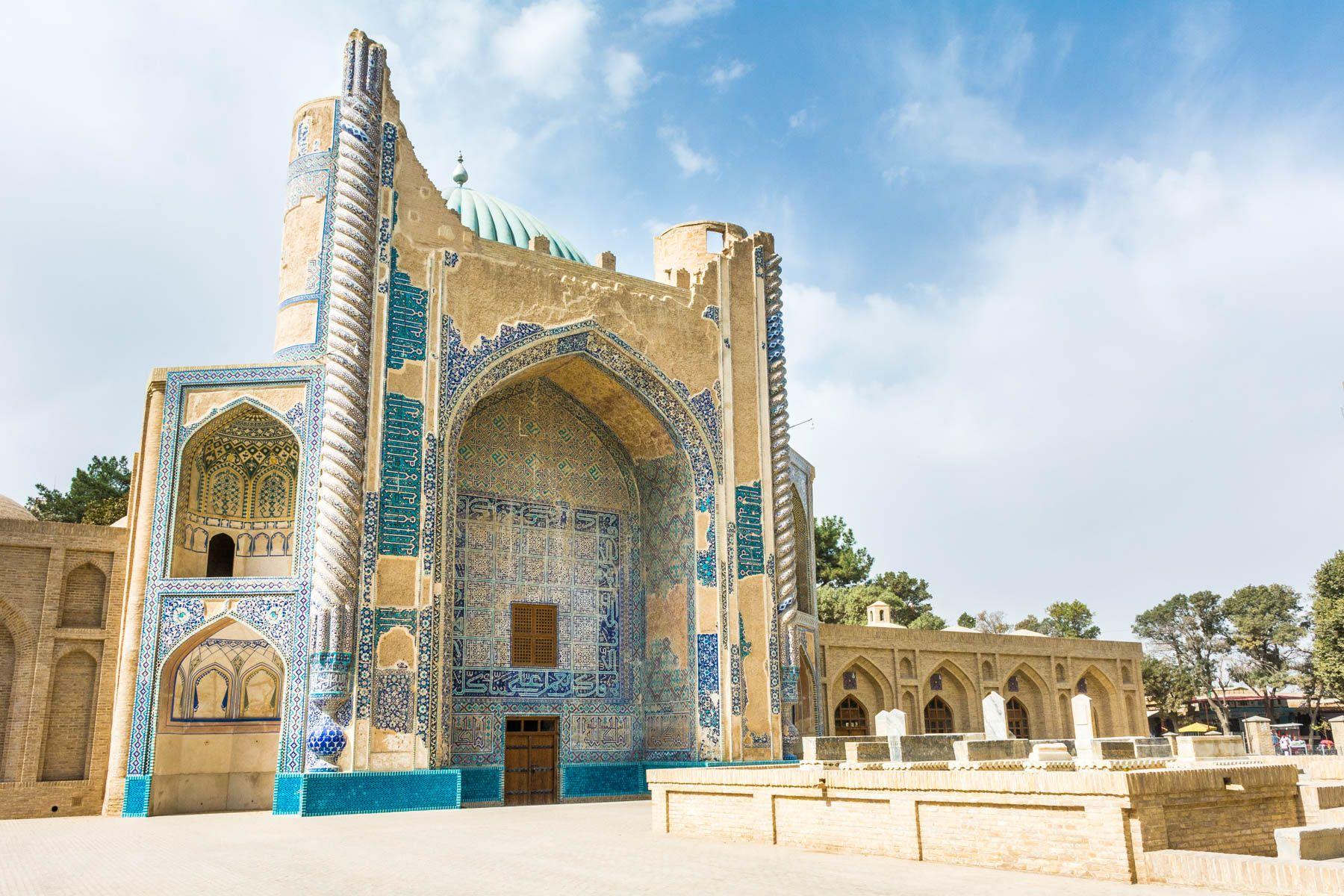 Картинки по запросу green mosque balkh