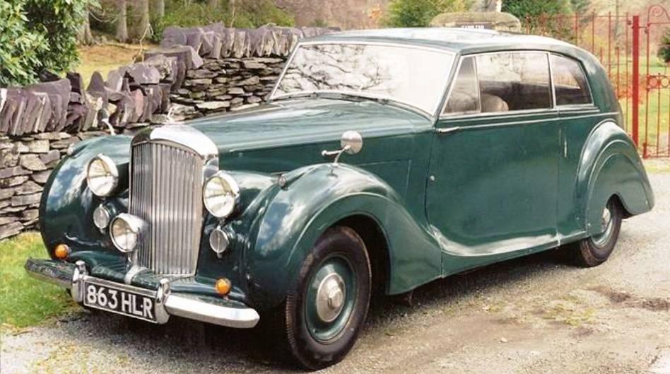 1947 BENTLEY MK VI 2-DOOR SALOON - coachwork by James Young