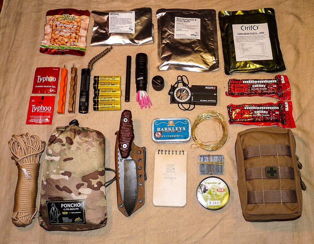 Wander Tactical Go Bag Loadout Gear 2