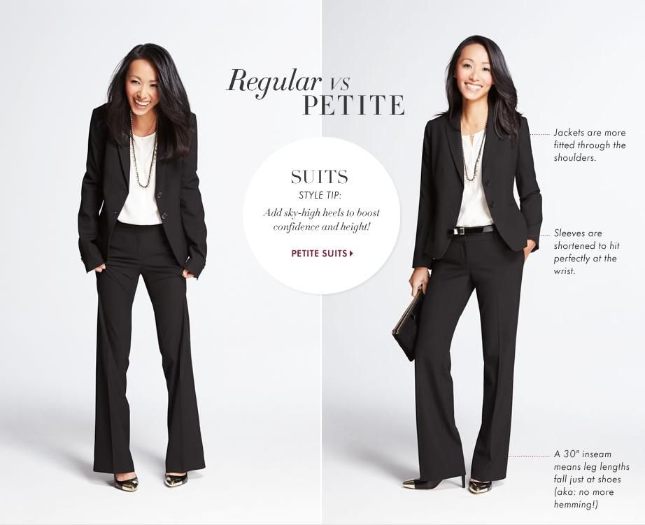 With our petite business attire collection, you're to find separates that coordinate with just about anything. From blazers to tops and pants to skirts as well as dresses, find an abundant collection of pieces that complete your clothing collection.