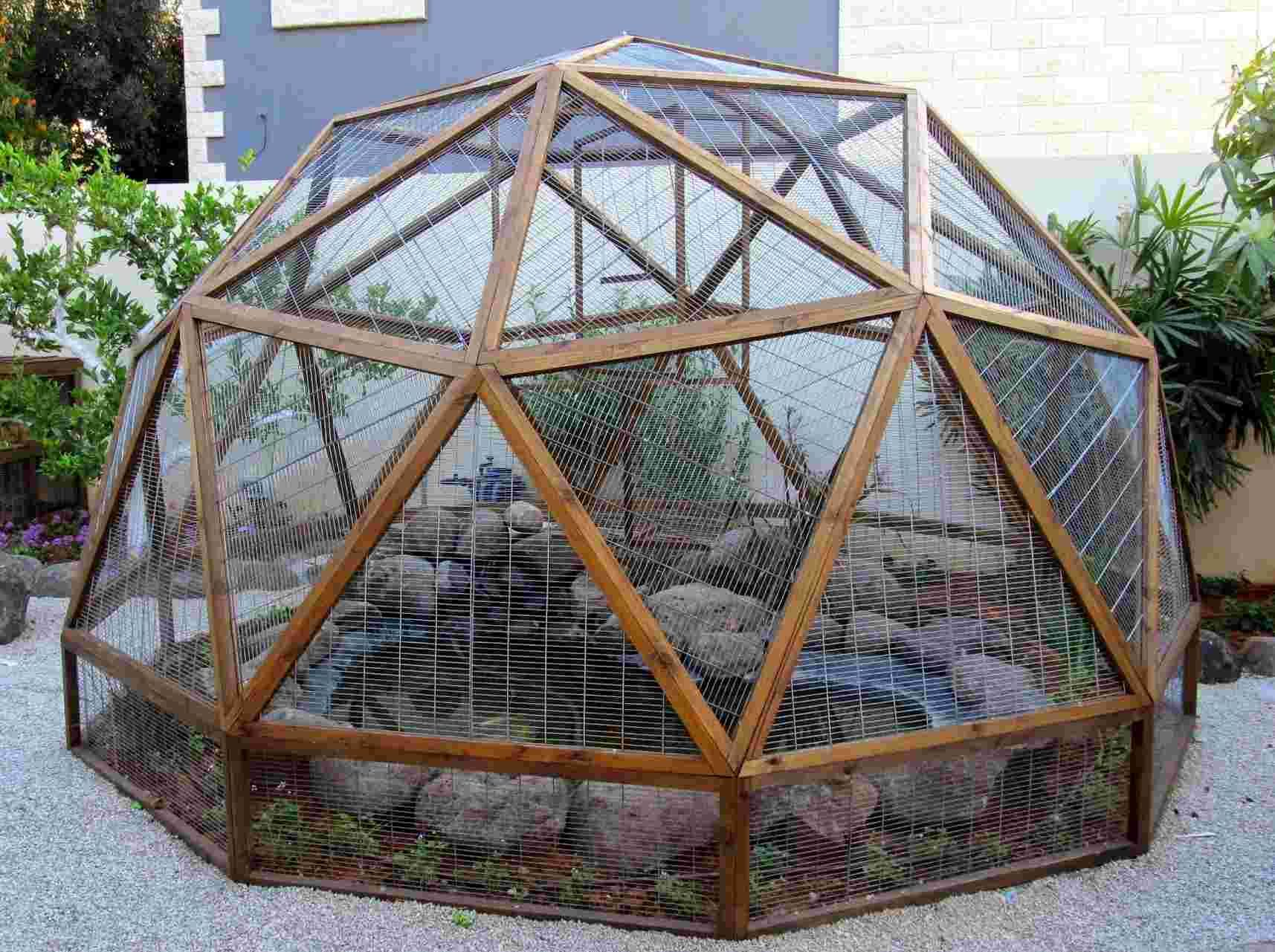 Geodesic dome Planning on building your own See how I built