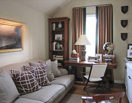 9 Escapes For Men Narrow Living Room Narrow Family Room Cozy